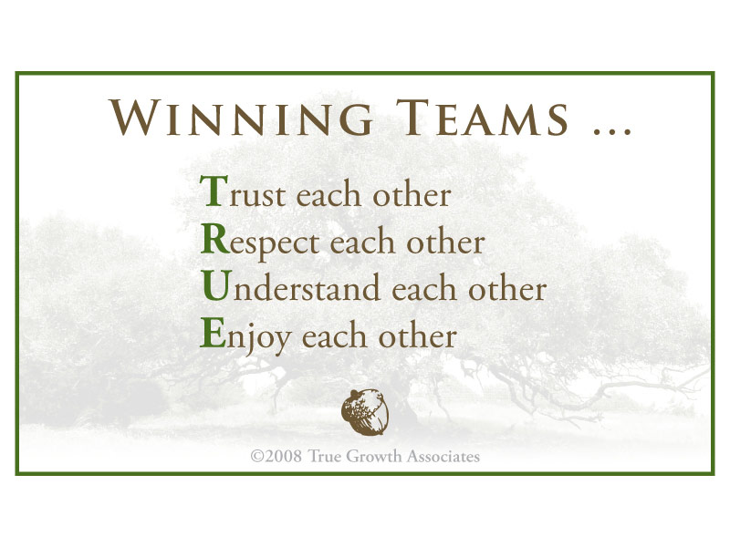 Winning Teams - Motivational Team Building